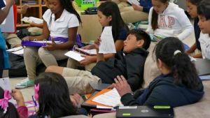 Students in struggling schools